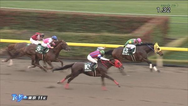 武蔵野ステークス2015 ノンコノユメ 動画・結果