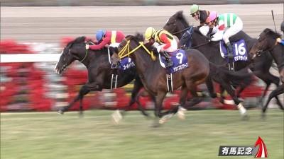 有馬記念 2015 ゴールドアクター 動画・結果