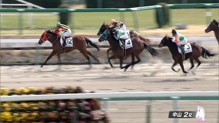 【藤田菜七子騎手】JRAデビュー戦・ネイチャーポイントは2着/中山競馬・第2レース 動画・結果