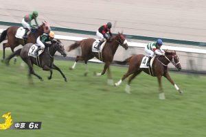 【2歳新馬戦】動画・結果/ディーパワンサが力強く抜け出し勝利を挙げる
