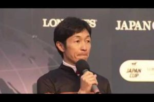 【ジャパンカップ 2016】パトロールビデオ・レース後のコメント/武豊「迷いはありませんでした」