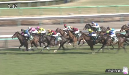 中山牝馬ステークス 2017 トーセンビクトリー
