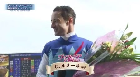 ヴィクトリアマイル 2017 勝利騎手