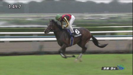 【萩ステークス 2017】動画・結果/タイムフライヤーが4馬身差をつけ圧勝