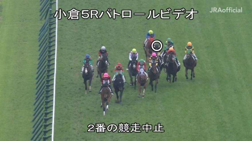藤田菜七子騎手 落馬 2020年2月15日