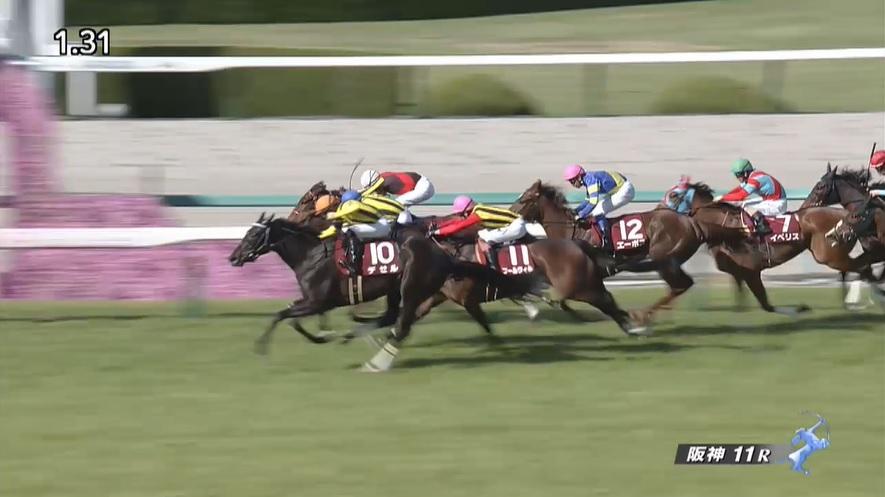阪神牝馬ステークス2021 デゼル